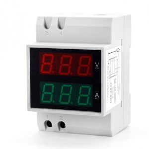 D52-2042 0.5 inch LED Digit Display Voltmeter Ammeter 2 in 1
