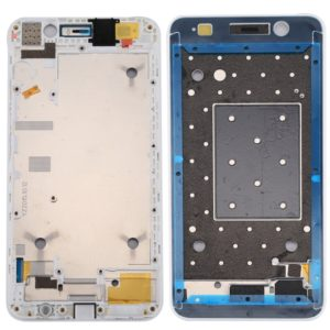 For Huawei Y6 / Honor 4A Front Housing LCD Frame Bezel Plate(White)