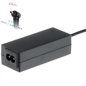 Akyga Power Supply For Asus Notebooks Powered With 19V/2.1A, 40W And 2.5x0.7mm Plug (AK-ND-23)