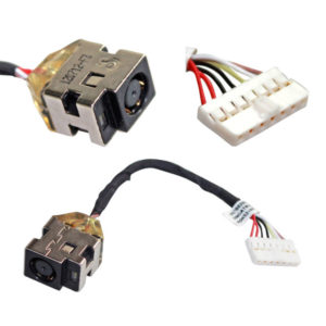 Βύσμα Τροφοδοσίας DC Power Jack HP DV5-2075NR DV5-2077CL DV5-2238NR DV5-2268CA G6-1000 G6 DM4 6017B0258701, 615913-001, 6017B0256201 (κωδ.3234)