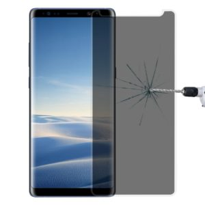 For Galaxy Note 8 0.26mm 9H Surface Hardness 3D Curved Privacy Anti-glare Non-full Screen Tempered Glass Screen Protector (Transparent)