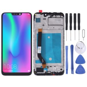 LCD Screen and Digitizer Full Assembly with Frame for Huawei Honor 8C(Black)