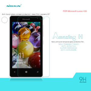 Nillkin Anti Burst Tempered Glass 9H για το Microsoft Lumia 435