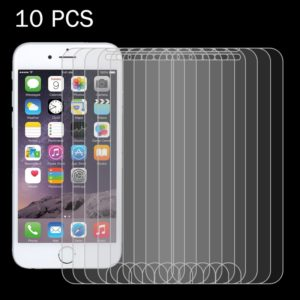10 PCS for iPhone 8 & iPhone 7 0.26mm 9H Surface Hardness 2.5D Explosion-proof Tempered Glass Non-full Screen Film