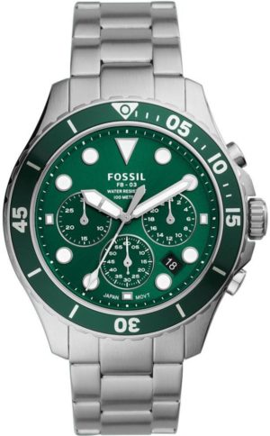 FOSSIL FS5726 FB-03 Silver Stainless Steel Chronograph