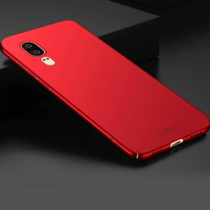 MOFI for Huawei P20 Frosted PC Ultra-thin Edge Fully Wrapped Protective Back Cover Case(Red) (MOFI)